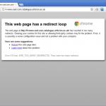 Temporary Internet Files Error