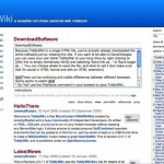 Create Personal Wiki With TiddlyWiki