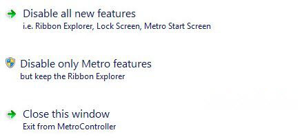 Disable Metro Windows 8