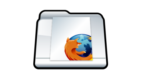 Custom Bookmark Folder Mozilla Firefox