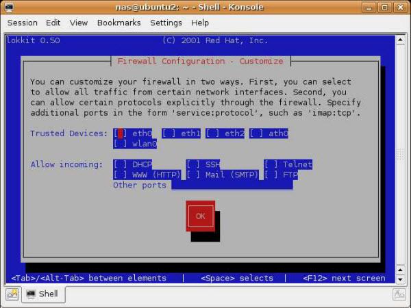 Ubuntu Firewall Configuration