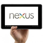 Google Asus 7inch Nexus tablet