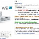 Nintendo Wii U Amazon Germany