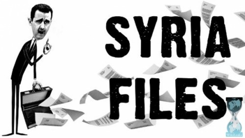 Wikileaks Syria Files, Mails and Documents