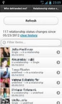 Relationship Status android app