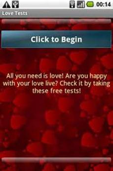 Relationship Tests android app
