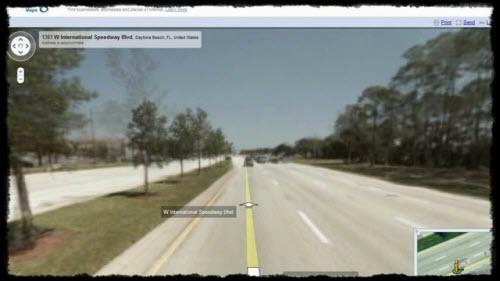 Time-Lapse Movie Google Street View