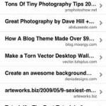 instapaper iphone app