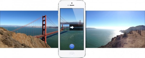 iPhone 5 panorama shot