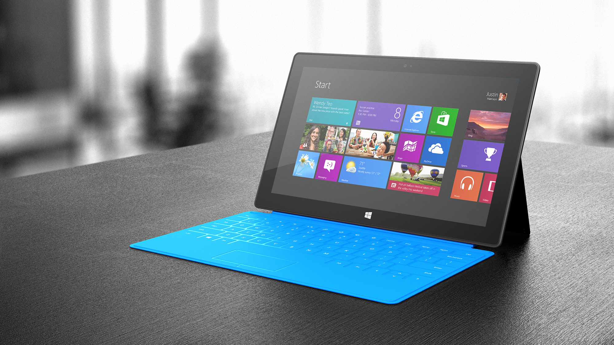 Surface; Cyan Touch Cover