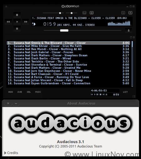 Audacious-3-1-Ubuntu-11-10-Oneiric-Ocelot