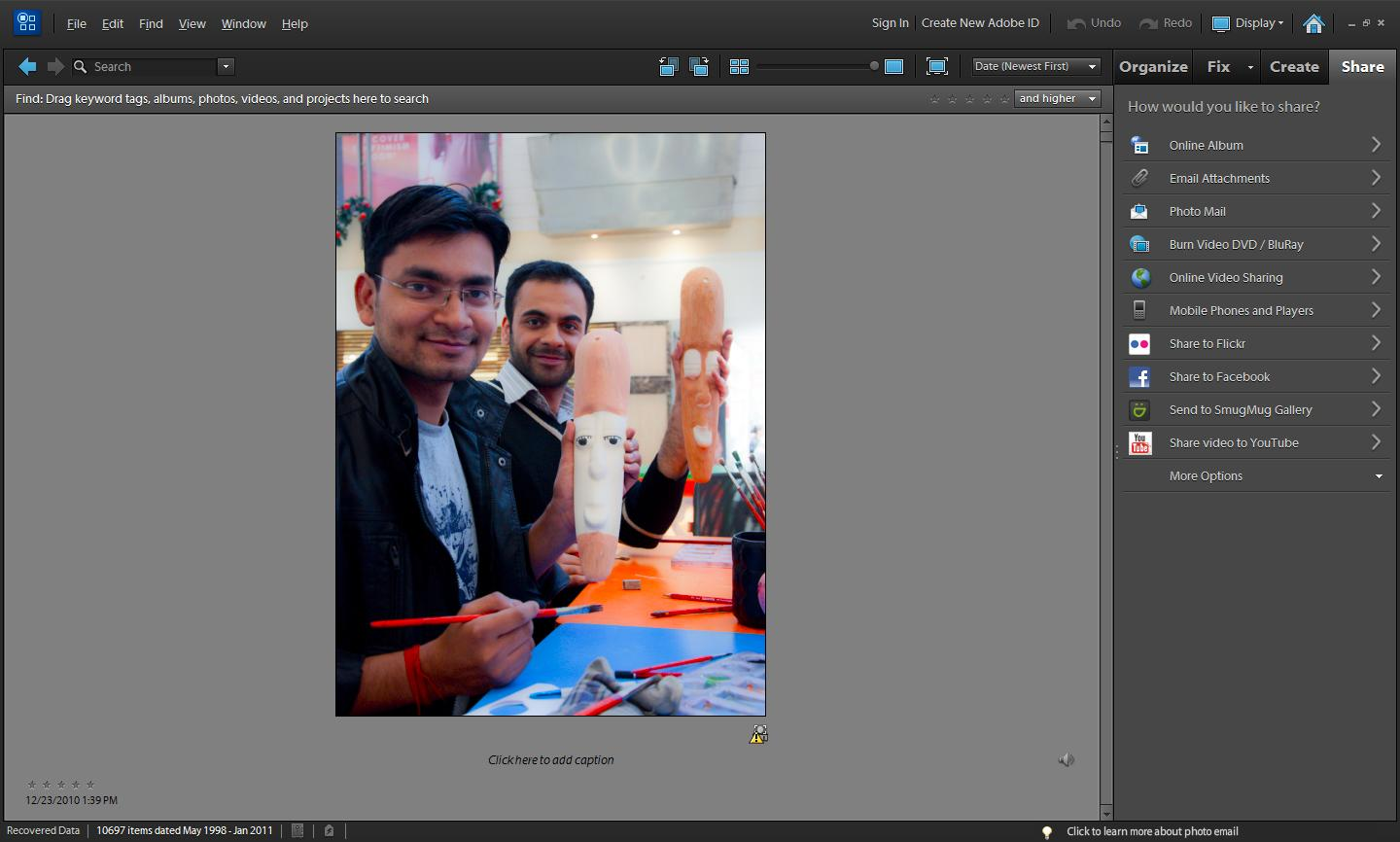 Face tagging on Facebook through Organizer in Adobe Photoshop Elements Make Location Tagging on Your Photos Easy with Photoshop Elements