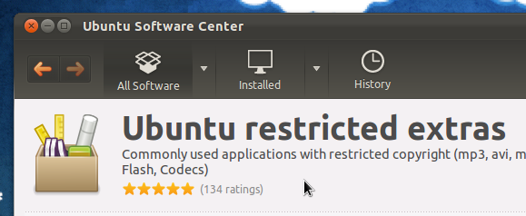 ubuntu-restricted-extras-install