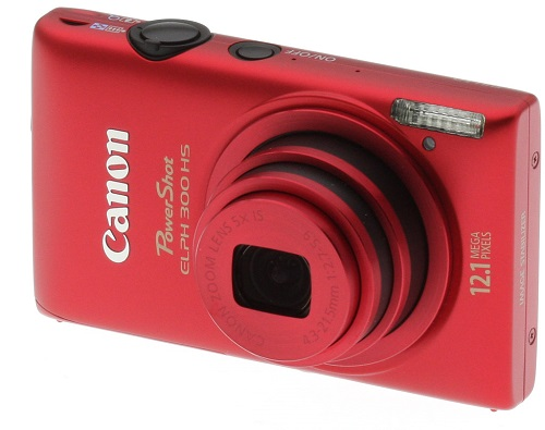 ZURBEA Canon PowerShot ELPH 300 HS 12 MP CMOS Digital Camera with Full 1080p HD Video