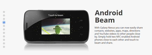 android beam 1 How To Share Files Between Android Devices Using Android Beam