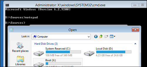 back up files from windows cd How To Use Windows Installer Disc To Backup Your Files