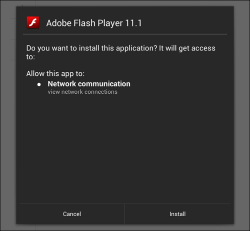 flash isntall How To Install Flash In Nexus 7 And Other Jelly Bean Running Devices