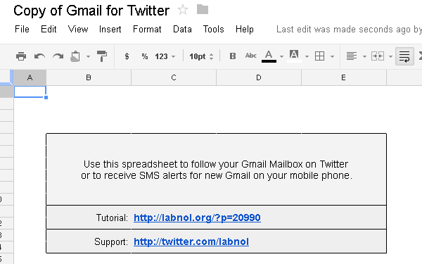 gmail for twitter
