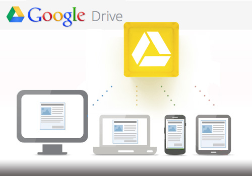 google drive logo How To Use The Google Drive Spreadsheet In Your Android Device
