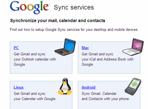 google sync interface How To Share And Sync Data Between Your Android Devices