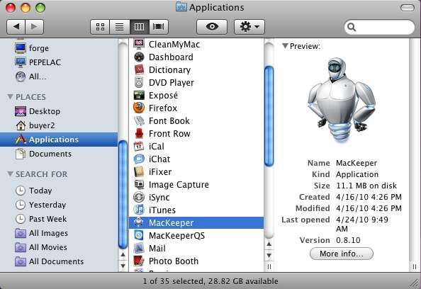 Binaries cutter mackeeper