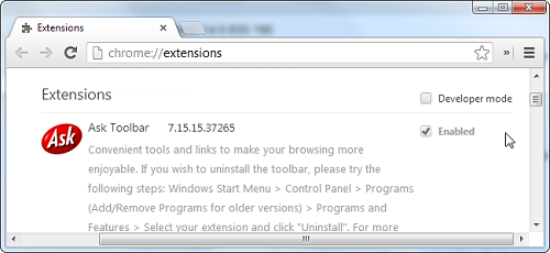 maually uninstall extension in chrome How To Manually Uninstall A Chrome Extension