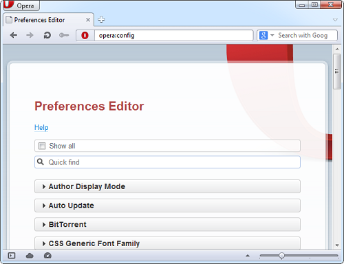 opera config How To Find And Change Advanced Settings In Your Browser