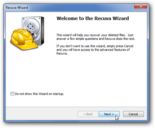 recuva wizard How To Recover Files That You Have Deleted Accidentally
