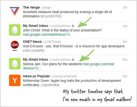 twitte gmail