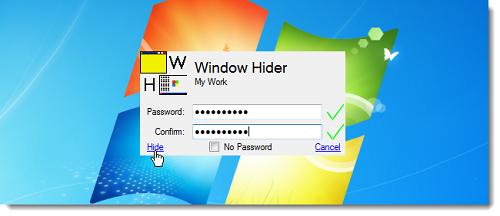 window hider