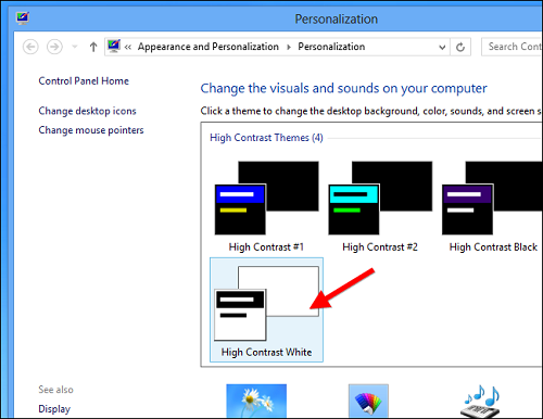 windows personalization How To Enable The Aero Glass Transparency In Windows 8