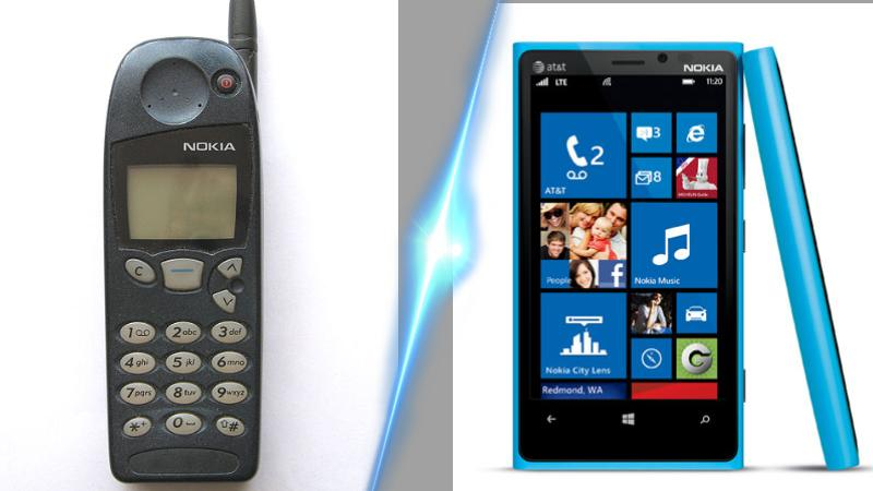 Mashup (3) - Before and Now Nokia