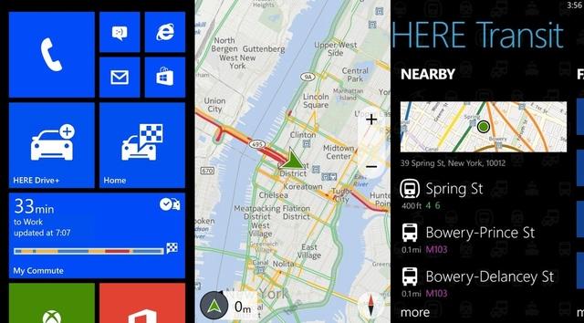 navigation apps windows phone